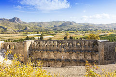 The Roman theater in Aspendos, Turkey. Stock Images