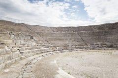Roman theater audience Stock Photo