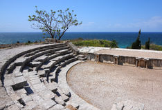 Roman Theater, Byblos (Lebanon) Royalty Free Stock Photo