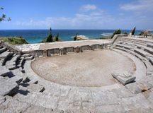 Roman Theater at Byblos, Lebanon Royalty Free Stock Photos