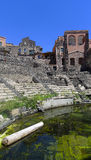 Roman theater, Catania, Sicily Royalty Free Stock Image