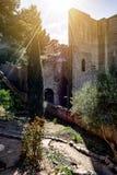 Roman Theater de Sagonte Photos stock