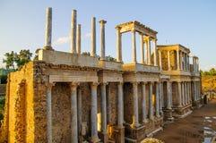 Roman Theater i Merida Fotografering för Bildbyråer