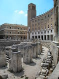 Roman theater in Lecce, Italy Royalty Free Stock Images