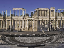 Roman Theater in Merida Royalty Free Stock Photos