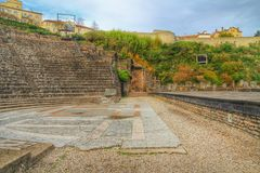Free Roman Theater Of Fourviere, Lyon Old Town, France Stock Image - 51122601