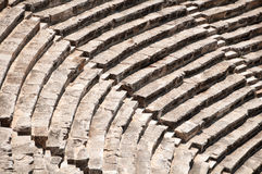 Roman Theater in Pamukkale, the ancient city of Hierapolis Turkey, Royalty Free Stock Photo