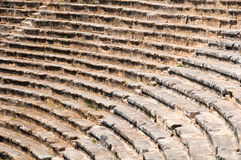 Roman Theater in Pamukkale, the ancient city of Hierapolis Turkey, Royalty Free Stock Images