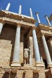 Roman Theater región de Mérida, Extremadura, España imagenes de archivo