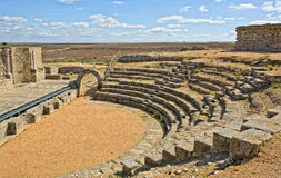Roman theater in Regina stands Stock Photos
