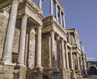 Roman Theater side view Royalty Free Stock Image
