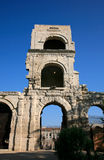 Roman theater ('Théâtre Antique'),  Arles,  France. Royalty Free Stock Photo