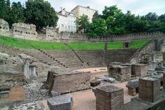 Roman Theater in Trieste Royalty Free Stock Photos