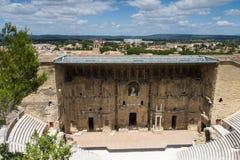 Roman theater van Sinaasappel royalty-vrije stock foto's