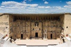Roman theater van Sinaasappel stock afbeeldingen