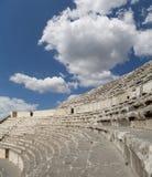 Roman Theatre à Amman, Jordanie Images libres de droits