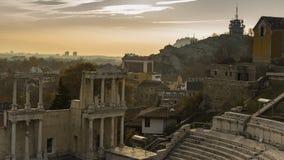 roman theatre Arkivbilder
