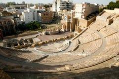roman theatre Royaltyfri Bild