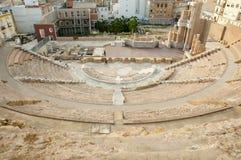 roman theatre Royaltyfri Fotografi
