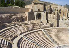 Roman Theatre Royalty Free Stock Images