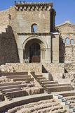 Roman Theatre 2. Stock Photo