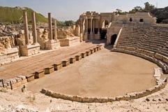 roman theatre arkivfoton