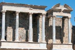 Roman theatre. The roman theatre in Merida,Spain Stock Images