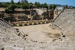 roman theatre Royaltyfri Foto