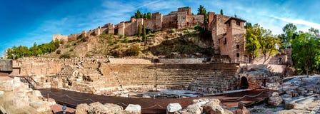 Roman Theatre Arkivbild