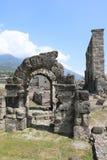 roman theatre Royaltyfria Bilder