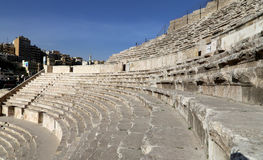 Roman Theatre in Amman, Jordan Stock Photography