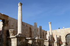 Roman Theatre in Amman, Jordan Royalty Free Stock Photo