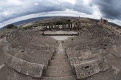 Roman Theatre antique photos stock