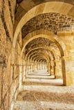 Roman theatre at Aspendos Stock Photo