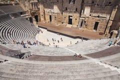 Roman Theatre av apelsinen Royaltyfria Foton
