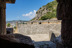 Roman theatre Stock Image