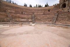 The Roman Theatre in Cartagena, Spain royalty free stock photos