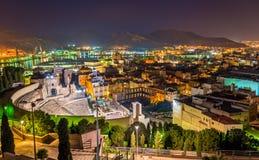 Roman Theatre a Cartagine, Spagna Fotografia Stock Libera da Diritti
