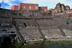 Roman Theatre of Catania Royalty Free Stock Photo