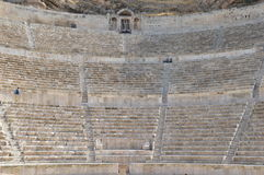 Roman Theatre de Amman, Jordânia Fotos de Stock Royalty Free