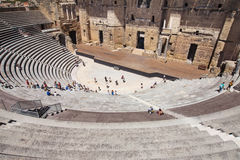 Roman Theatre der Orange Lizenzfreie Stockfotos