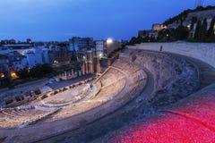 Roman Theatre em Cartagena Foto de Stock Royalty Free
