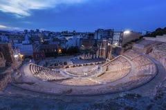 Roman Theatre em Cartagena Fotografia de Stock Royalty Free