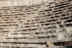 Roman Theatre en Amman, Jordania imagen de archivo libre de regalías
