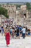 Roman Theatre at Ephesus in Turkey. Stock Images