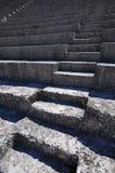 The Roman Theatre in the extensive Roman ruins at Vaison-La-Roma Stock Images