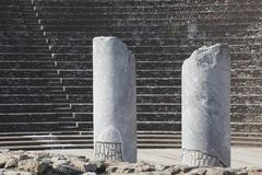 Roman theatre of Fourviere in Lyon Stock Photography