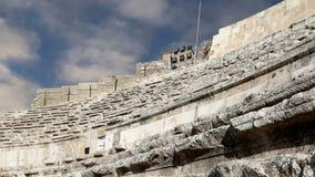 Roman Theatre In Amman, Jordan Stock Image