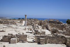 Roman theatre of Kourion Royalty Free Stock Photography