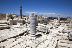 Roman theatre of Kourion Royalty Free Stock Photos
